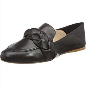 Rachel Zoe braided leather loafers Dakota 8.5